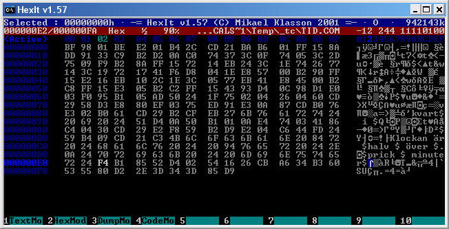 HexIt - The Hex Editor - mklasson com